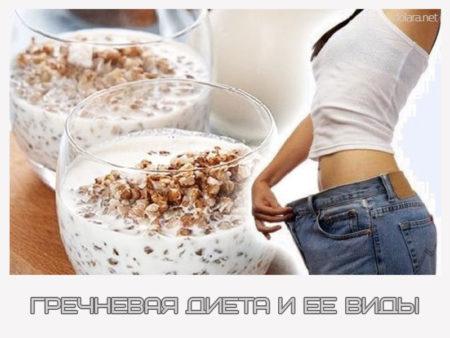 кефирно гречневая диета